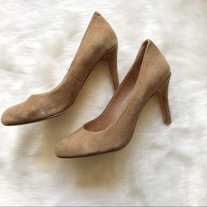 Corso Como Tan Suede Pump Heel Size 6M